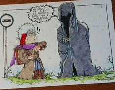 Sketch for Nazgul! #lohobbit #art #painting #illustrate