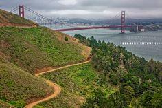 Golden Gate Bridge Golden Gate Bridge, Monuments, Landscape, Travel, Scenery, Viajes, Destinations, Traveling, Trips