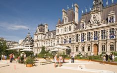 To watch the Olympic games in Paris, look no further than the centrally located Hotel de Ville. T