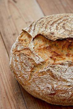 Mal wieder ein Brot, das spontan bei einem Auftragsbrotprojekt entstanden ist. Ich habe das Brot mit Sauerteig, Vorteig und Autolyseteig im Topf gebacken. Es hat eine kräftige Kruste und wattige, mittelporige Krume. Kurzum: das perfekte Sommerbrot, auch wenn Weihnachten nicht weit ist. Auf die Brotbackliste für 2017 2016 kann es ja schonmal geschrieben werden… Nicht wundern, die Weiterlesen...