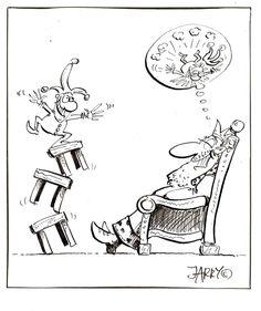 Cartoon by JARRY Jaworski. Polish cartoonist, writer, journalist, and filmmaker. Do you need this cartoon? jarry.rysunki@gmail.com