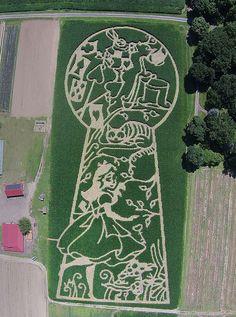 amazing corn mazes