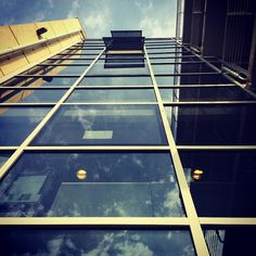 #building #glass #reflection #sky #iPhone | Flickr - Photo Sharing!