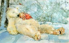 Claire Fletcher - Bear and kid
