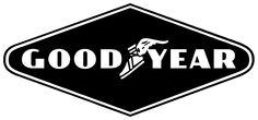 All Goodyear Logos Goodyear Logo, Goodyear Tires, American Logo, Tyre Companies, Chevy, Neon Words, Retro, Famous Logos, Nose Art