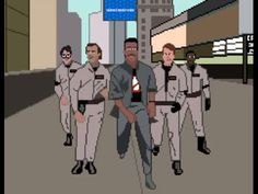 Ghostbusters Retro Style Video!
