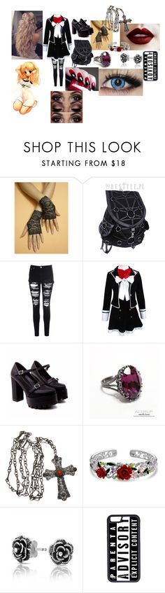 """""""Isabelle Komori (Diabolik Lovers)"""" by morfeoandpan ❤ liked on Polyvore featuring Glamorous, Bling Jewelry and CellPowerCases"""
