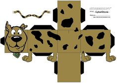 Image detail for -Scooby Doo Printable Paper Toy For Free
