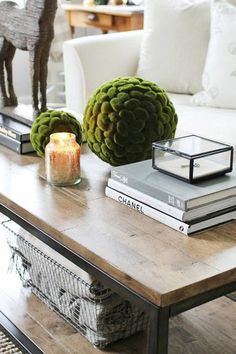 7 Easy Ways to Style a Coffee Table via @PureWow