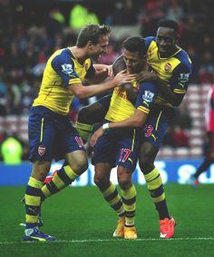 Alexis. Arsenal 2014