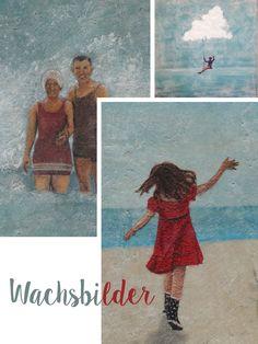 Meine schicksalhafte Begegnung mit Karen Löwenstrom - Förde FräuleinHolzskulptur Karen Löwenstrom maritim Zum Meer Kunst Design handgemacht Holzfigur Wachsbilder