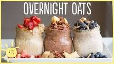 Overnight Oats: Pour 1/2 cup organic steel cut oats, 1/4 cup organic plain Greek yogurt, 1/4 cup organic unsweetened almond milk, and 1 tablespoon chia seeds in mason jar, shake and leave in fridge overnight. Top with seasonal fruit and drizzle of honey. No cooking! Yay!