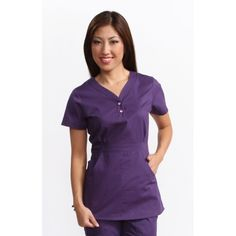 The koi Justine Top is one of our best sellers! Because it is a longer length top with makes any woman's waist look amazing. The koi Justine top is used by women looking for nursery uniforms, childcare uniforms, dental uniforms or dental scrubs. Dental Scrubs, Nurse Scrubs, Dental Uniforms, Happy Threads, Koi Scrubs, Scrub Tops, Long Tops, Looking For Women, Tunic Tops