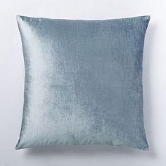 Washed Luster Velvet Duvet Cover + Shams | west elm