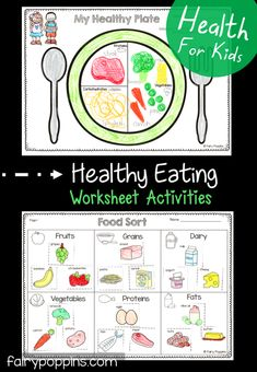 Healthy Eating Activities For Kids | Fairy Poppins