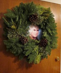 The Wreath of Khan, created by our friend Josh Ellingson as an awesome way to celebrate the holidays.