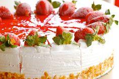 Ice Cream Cake Desserts   Strawberry Ice cream Cake at dessert corner...   Flickr - Photo ...
