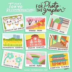 Today in #JLMTokyoRecommendations for the PHOTOGRAPHER: Places to photograph in Tokyo! 📷❤️ If you love taking pictures when you travel, this is for you! Aside from the more popular photo-op spots like Tokyo Sky Tree, Shibuya Crossing, and Tokyo...