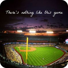 There's nothing like baseball