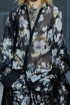 A/W 14/15 New York women's print & pattern catwalk analysis