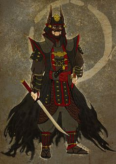 Samurai Batman in his ceremonial attire by crimincom