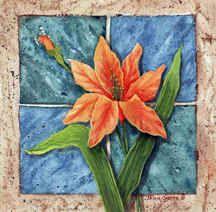 """""""Daylily Tile"""""""