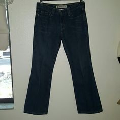 "Gap Low Rise Boot Cut Jeans Medium dark wash Gap Original Low Rise Boot Cut jeans. 5 pocket styling. Size 4 Ankle. Measures 14"" at the waist, lying flat. Measures 37"" from waist to hem. GAP Jeans Boot Cut"