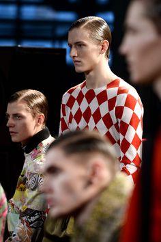 New post on mens-fashion-inspiration Jonathan Saunders, Fall Winter 2014, Gq, Mens Fashion, Style Inspiration, Couple Photos, Backstage, Profile, Image