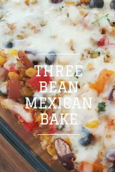 3 c cooked quinoa | 1 tbsp olive oil | 1 small onion | 3 cloves garlic | 4 oz green chilies | 1 red bell pepper, | 1 orange bell pepper | 2 c corn | 2 tbsp lime juice | 2 tsp cumin | 1 tbsp chili powder | 1/2 c chopped cilantro | 1 1/2 c black beans | 1 1/2 c kidney beans | 1 1/2 c pinto beans | 2 c mozzarella cheese | 1 tomato | 6 green onions