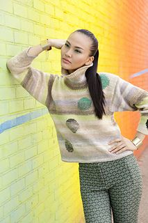 Noro #16 Intarsia Pullover by Dana Bridger Hurt