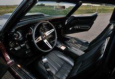 1969 Chevrolet Corvette Stingray interior