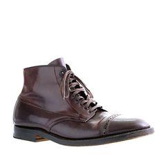 Alden cap toe boots - Halfway between dress and casual. Not sure in cap part though...