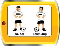 German for Children / Deutsch für Kinder - Opposites
