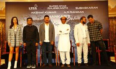 Superstar Rajinikanth's 2.0 Movie Press Meet at Burj Al Arab Hotel, Dubai. Rajinikanth, Akshay Kumar, Shankar, AR Rahman, Amy Jackson, Subaskaran Allirajah, Jeyamohan at the event. Related Post Kadamban Press Meet Stills Naan Aanaiyittal Press Meet Photos Karuppu Raja Vellai Raja Press Meet Stills Mom Movie Stills