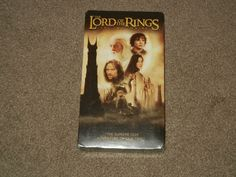 The LORD OF THE RINGS: The Two Towers (VHS, Movie, Sci-Fi, Fantasy, Rated-PG-13)