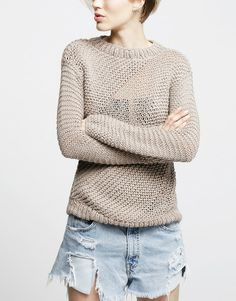 Wool and the Gang sweater