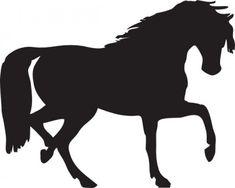 Horse Clip Art   Running Horse clip art - vector clip art online ...