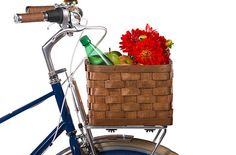 "$55 PUBLIC Peterboro Porteur Front Rack Basket (Porteur Rack Sold separately).   - 13.5"" x 11.5"" x 8""HT - Sized to fit the PUBLIC PORTEUR FRONT RACK. -  Includes wood crossbeams, hardware for secure mounting. - Lifetime warranty.  Made in Vermont by the Peterboro Company since 1854.  In 3 colors, all will weather nicely outdoors (wooden platform bottom).  Weighs?"