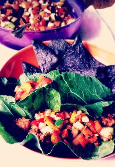 I want to put Angela's fruit and veggie salsa on all of the food!  via @cannedtime