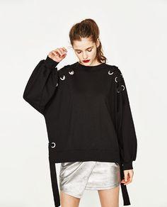 Purebliss 2017 lace up sweatshirt belt women oversized boyfriend loose female pullover streetwear hoodie Girl Fashion, Fashion Dresses, Womens Fashion, Fashion Design, Fashion Trends, Mode Inspiration, Refashion, Korean Fashion, Ideias Fashion