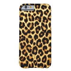 iPhone 6 case Leopard