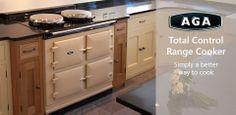 AGA///Total Control Range Cooker