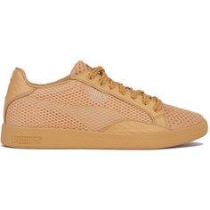 Puma x Solange Match Lo Stutter Stripe Sneakers - Clay