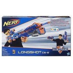 Nerf N-Strike Longshot CS-6 Blaster