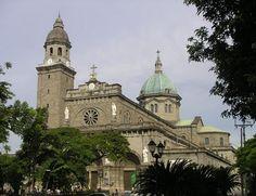 Manila Cathedral; Intramuros, Philippines