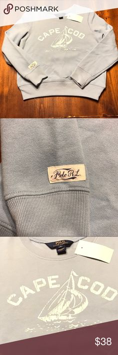 Polo Ralph Lauren Girls Cape Cod Sweatshirts NWT Polo Ralph Lauren Girls Cape Cod Sweatshirts NWT Polo by Ralph Lauren Shirts & Tops Sweatshirts & Hoodies