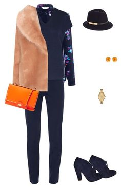 """""""Unbenannt #152"""" by yelo7705 ❤ liked on Polyvore featuring Rebecca Taylor, Fabrizio Gianni, Cole Haan, Opening Ceremony, Valentino, Lacoste and Betmar"""