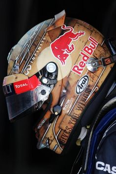 Sebastian Vettel Photos: Grand Prix of Monaco: Practice Motocross, Bmx, Red Bull Racing, Racing Team, Motogp, Arai Helmets, Gp F1, Helmet Paint, Custom Helmets