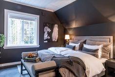 that continental feeling: soverommet vårt - Caroline Berg Eriksen Interior, House, Inspiration, Furniture, Blue Bedrooms, Home Decor, Remodels, Live, Rings