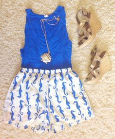 Tank- Jcrew  Shorts- red dress boutique (a year ago) Wedges- Jessica Simpson  Necklace- Lilly Pulitzer